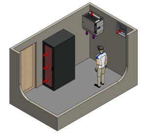 ECV2200 FreeCoioler installtion - Data Centre Cooling