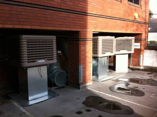 ECP60-03 down discharge evaporative coolers